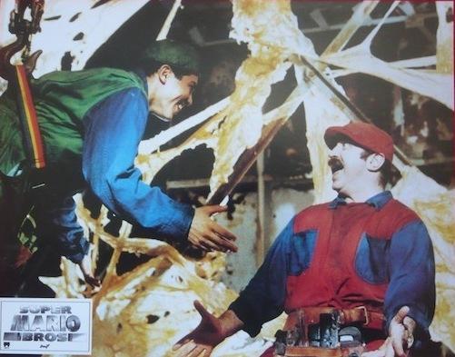 Cartel de la película Mario Bros