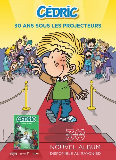 Affiche BD Cédric