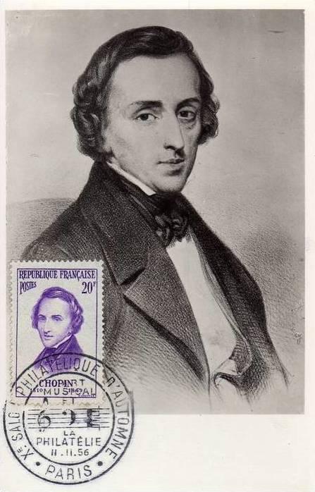 carte maximum Chopin