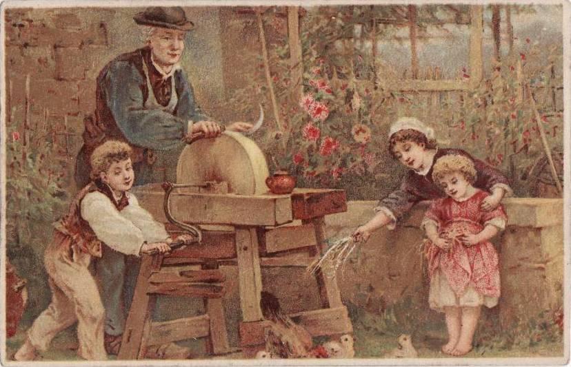 carte postale remouleur