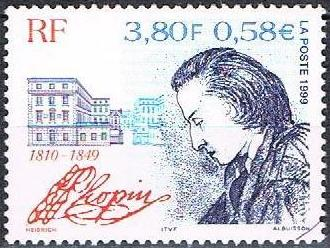 timbre Chopin France Albuisson