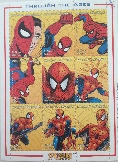 collection Spider-Man timbres