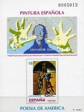 España 1994, souvenir filatélico