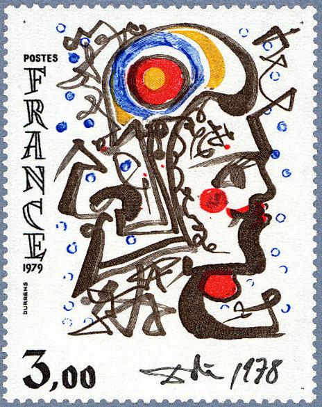 Francia 1979, sello Dalí