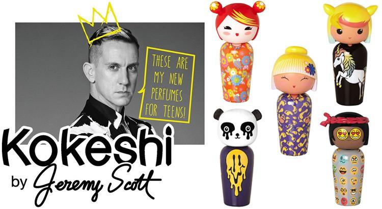 collection Kokeshi Scott