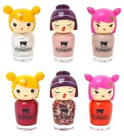 Collection de vernis à ongle Kokeshi