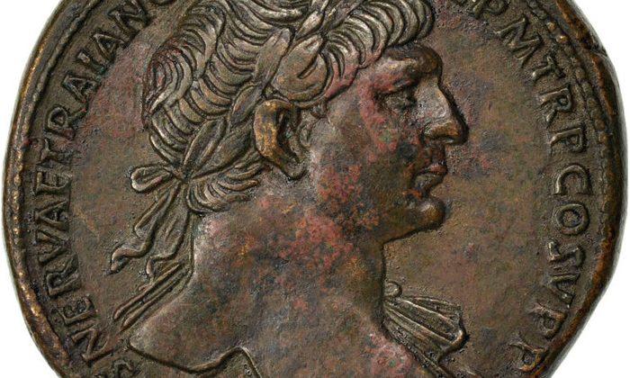 Botschaften Ans Volk Münzen Unter Kaiser Trajan Sammlungen