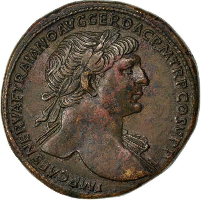 quand l 39 empereur trajan utilisait les pi ces de monnaies pour faire de la propagande. Black Bedroom Furniture Sets. Home Design Ideas