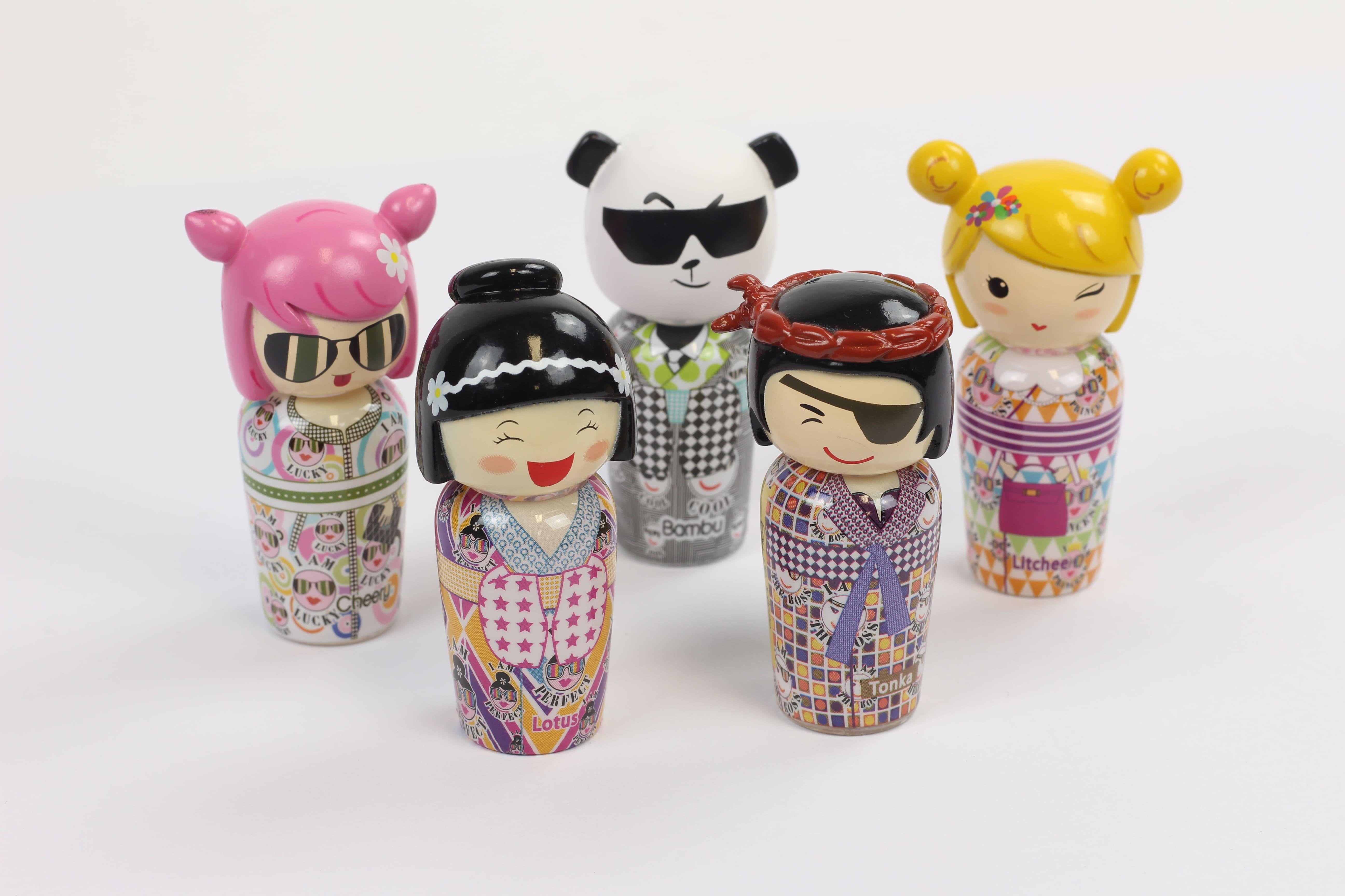 collection Kokeshi Attinelli