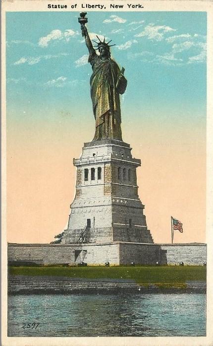 CPA Statue de la Liberté