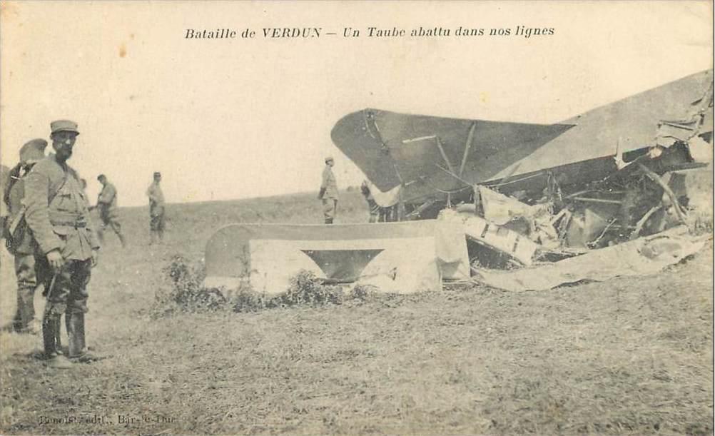 CPA bataille de Verdun