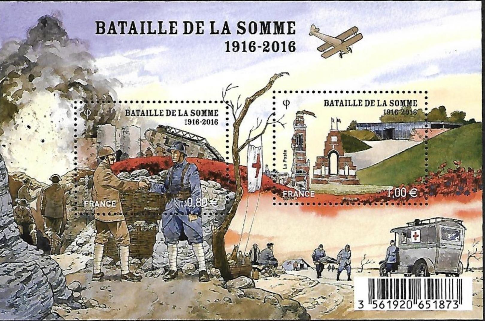 bloc bataille de la Somme