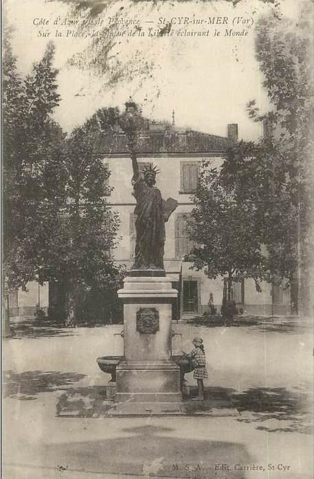 Cartes postales de la Statue de la Liberté