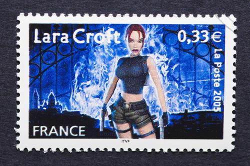 Timbre Lara Croft