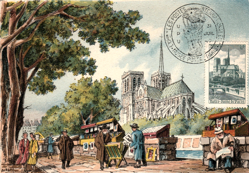 Notre-Dame de Paris, les collectionneurs contribuent ! | Delcampe Blog