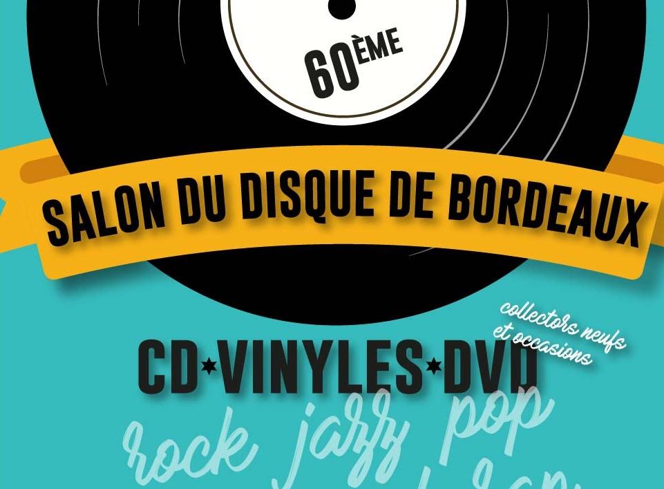 Ne manquez pas la 60ème édition du Salon du vinyle de Bordeaux