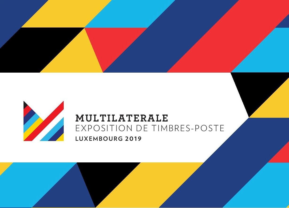 Découvrez  l'Exposition de timbres Multilatérale Luxembourg 2019
